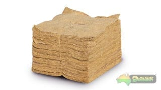 Jute weed mat squares small